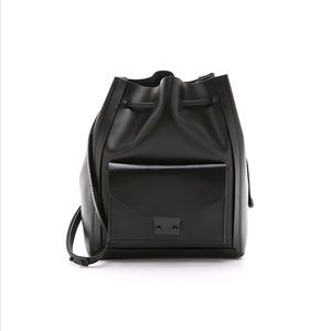 Loeffler Randall drawstring bucket bag